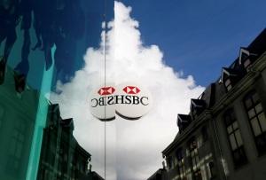 Een vestiging van de Britse zakenbank HSBC op het belastingparadijs Jersey. Foto Reuters/Stefan Wermuth