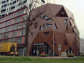 De Pauluskerk in Rotterdam (bron: Rijnmond.nl).