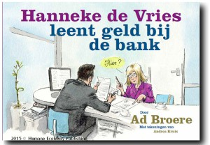 Hanneke de Vries leent geld, boek Ad Broere