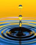 waterdruppel-transparantie-uitsnede